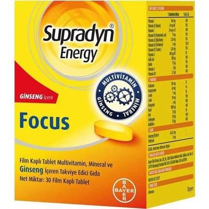SUPRADYN ENERGY FOCUS 30 TABLET (2 ADET)