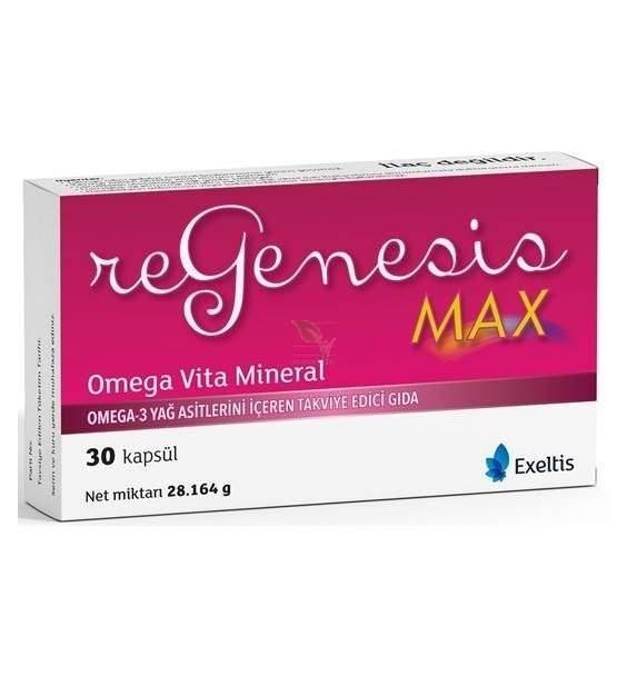 REGENESIS MAX OMEGA 3 28 MG 30 KAPSUL
