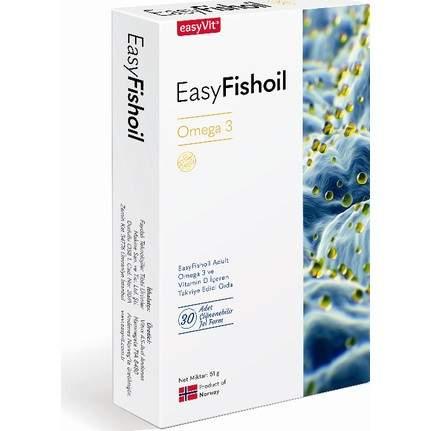 EASYFISHOIL OMEGA-3 YETISKIN 30 TABLET