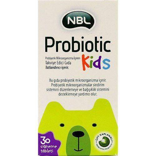 NBL PROBIOTIC KIDS 30 CIGN TABLET