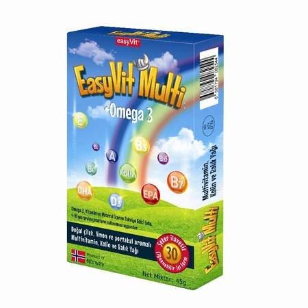 EASYVIT MULTI + OMEGA-3 30 TABLET