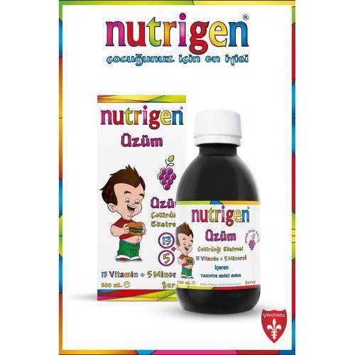 NUTRIGEN ÜZÜM PEDİATRİK ŞURUP 200ML