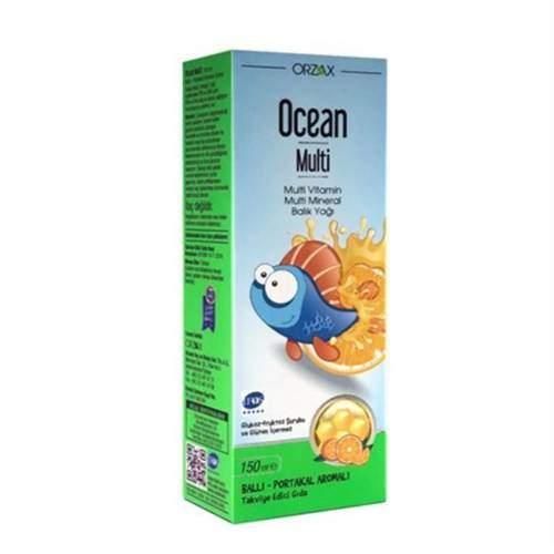 OCEAN MULTI BALIK YAGI BAL PORTAKAL AROMA 150 ML