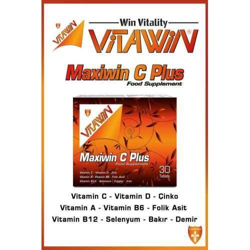 VİTAWİN MAXİWİN C PLUS 30 TABLET
