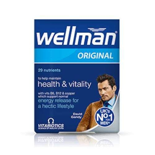 WELLMAN 30 TABLET VİTABİOTİCS
