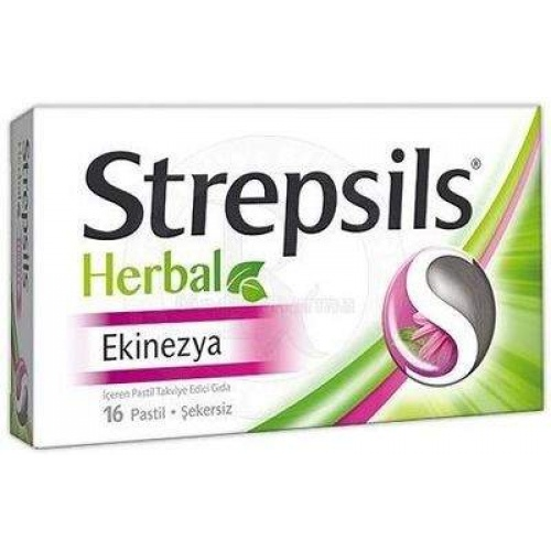 STREPSILS HERBAL EKINEZYA 16 PASTİL