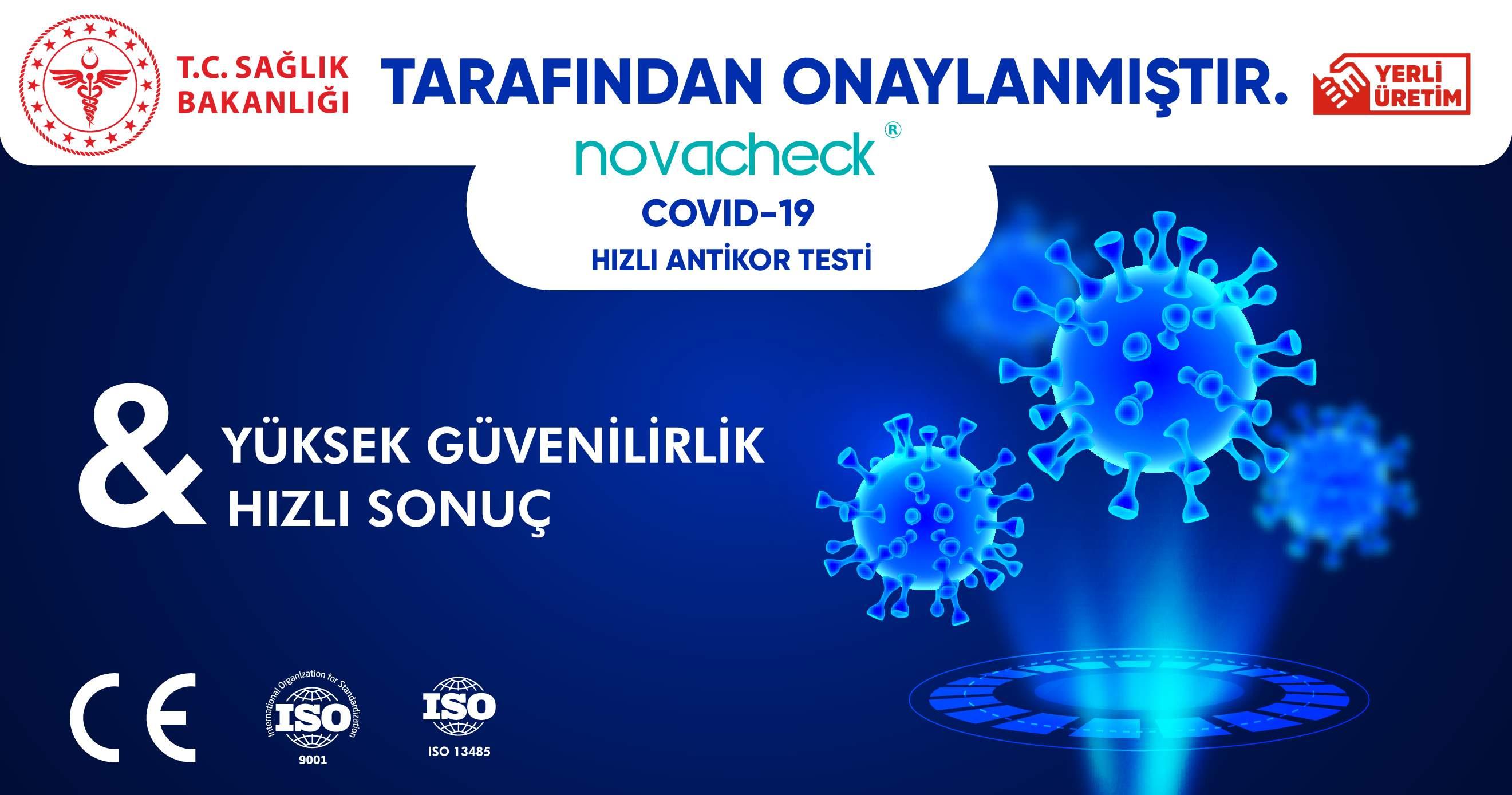 Novacheck Hızlı Antikor Test Kiti 10LU